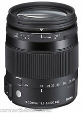 Sigma 18-200mm F/3.5-6.3 DC 'C' Macro OS HSM Lens for Nikon NEW Contemporary