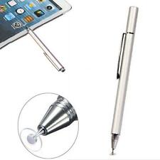 Fine Point Round Thin Capacitive Stylus Pen for iPad2/3/4/5/Air/Mini/iphone#C BR