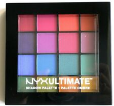 NYX Cosmetics Ultimate Shadow Palette Ombre Brights New and Genuine