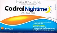 =  PRICE SMASH CODRAL NIGHTIME COLD & FLU 24 TABLETS