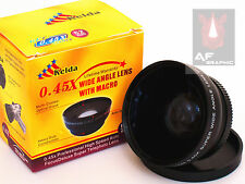 Z14 0.45X Wide Angle Lens w/ Macro for Fujifilm FinePix HS50EXR Camera AU