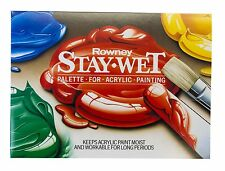 Daler Rowney Stay Wet Palette For Acrylic Paint Mixing Artist Painting Small