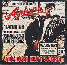 Alphrisk - The Best Kept Secret  **NEW CD**