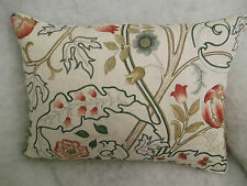 """MARY ISOBEL BY WILLIAM MORRIS OBLONG CUSHION  20 X 14"""""""