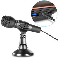 Neewer Mini Studio Microphone with 3.5mm Stereo Plug for PC Computer or Laptop