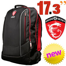 """MSI Hecate 17.3"""" Laptop Backpack Bag Notebook Carry Case Gaming NEW"""