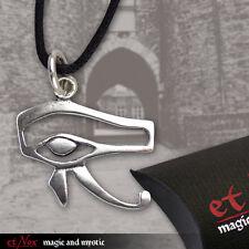 Auge des Horus Gothic ägyptischer Anhänger Silberanhänger Amulett Silber K738