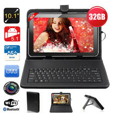 "32GB 10.1"" Inch HDMI Android 5.1 Quad Core WiFi Camera Allwinner Tablet PC Black"