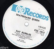 FAT BUBBLES Skateboard Queen *AUSTRALIA ORIGINAL 70s PYE RECORDS SINGLE*