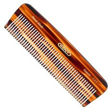 Kent A 12T Hand Made Pocket Comb for Thick/Coarse Hair  And Detangling.