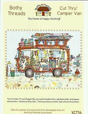 BOTHY THREADS CUT THRU CAMPER VAN COUNTED CROSS STITCH KIT 36x26cm - NEW