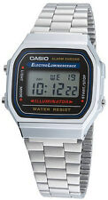 CASIO Digital Alarm-Chronograph Chrono A168WA-1YES