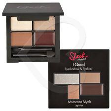 Sleek Make Up I-Quad Eye shadow & Gel Liner Palette 3g Brown Gold Nude Cream
