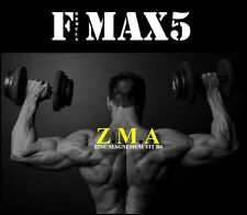 ZMA X120 TABLETS EXTREME ANABOLIC MUSCLE GROWTH + STRENGTH TESTOSTERONE BOOSTER