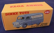 """DINKY TOY REPRO BOX 481 BEDFORD """"OVALTINE"""""""