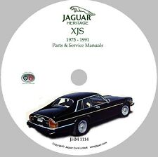 Jaguar XJS Workshop Parts and Service Manual on CD-ROM '75-'91 (Used)