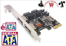 PCI-E PCI Express eSATA & SATA II 3Gbps Card Adapter Serial ATA HDD Controller