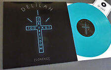 """RSD 2016 12"""" BLUE VINYL FLORENCE + THE MACHINE DELILAH Record Store Day DEMO+Mp3"""