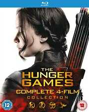 HUNGER GAMES COMPLETE 1-4 COLL (Blu-ray) (New)