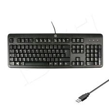 HP KU-1156 PC Office Business Tastatur Keyboard USB ,QWERTZ Deutsches Layout