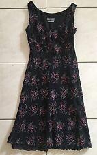 Gorgeous Jacqui E Floral Dress Size 10