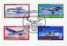 BRD 1979: Luftfahrt! Jugendmarken Nr. 1005-1008 mit dem Bonner Stempel! 1A! 153