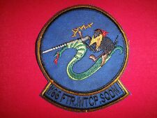 Circa 1950s US Air Force 166th FIGHTER INTERCEPTOR Squadron Patch