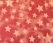 Jeans Sterne Stars Auf Orange Rot Apricot Batik Kinderstoff