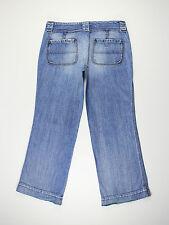 Diesel womens Size 31w short leg 30L Wiggy loose boyfriend blue jeans