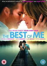 The Best of Me DVD New/Sealed 2015 (Nicholas Sparks)
