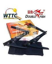 Double Fish 2001A / C Table Tennis PING PONG CLAMP Net & Post Set FREE POSTAGE
