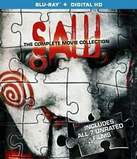 SAW - Complete 1-7 Final Cut Film Collection Box Set NEW BLU-RAY