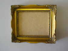 "5X4 SHABBY CHIC ORNATE 1""  GOLD PICTURE FRAME"