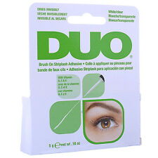 DUO Brush On StripLash Adhesive False Lashes with Vitamins Clear Salon Ardell
