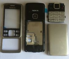 REPLACEMENT FOR A NOKIA 6300 6301 FASCIA HOUSING COVER SILVER