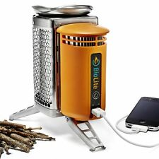 BioLite *CampStove* All in One Wood Burner, Camping Cooker Stove, USB Charger UK