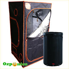 Hydroponics GroCell Mylar Grow Tent 1 x 1 x 2m with High Quality Water Tank