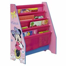 MINNIE MOUSE SLING BOOKCASE KIDS PLAYROOM BEDROOM STORAGE FURNITURE