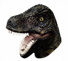 Latex Full Head Tyrannosaurus T-Rex Mask Dinosaur Reptile Fancy Dress Jurassic