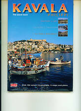 KAVALA, (The Azure Town) PHILIPI - GREECE  - Travel Guide --Brand New
