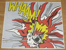 "ROY LICHTENSTEIN POSTER "" WHAAM ! "" RIGHT-HAND PANEL POP ART PLAKAT in MINT"