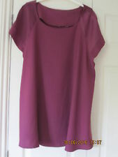 BRAND NEW -  Plus Size Tunic/Blouse/Long Top - Cap Sleeve -  Size 22