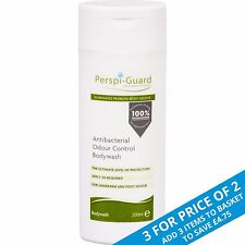 Perspi-Guard Antibacterial Odour Control BodyWash 200ml Helps Stop Sweat & Odour