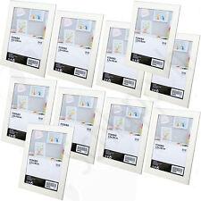 10 Stück Set IKEA FISKBO (13x18cm.) Weiß / Bilderrahmen/ Fotorahmen/ Neu/ OVP