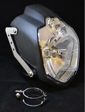 Yamaha MT03 LSL headlight inc brushed stainless brackets & 51-54 mm clamps