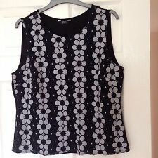 Florence And Fred At Tesco Floral Top Size 18 Brand New