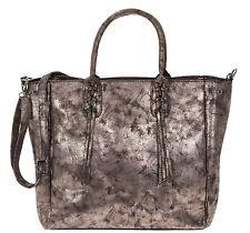 Handtasche CURUBA Modell HANS-PETER XL Kunstleder Damentasche Shopper NEU BRONZE