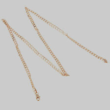 10K Rose Gold Filled GF Smooth Twist Chain Necklace 59cm Long 3.5mm Wide