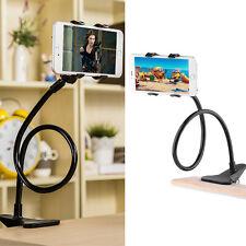 Universal Halterung Tisch & Bett Schwanenhals Halter für Smartphone Handy DHLNEW