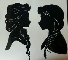 "Frozen vinyl sticker approx  7""x7""  also available in white"